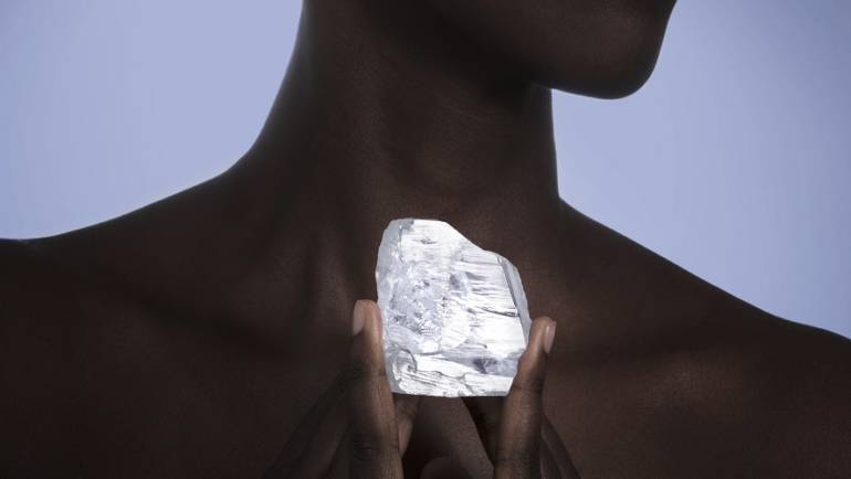 Another giant diamond from Sierra Leone
